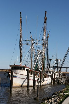 Apalachicola Florida Shrimp Boat