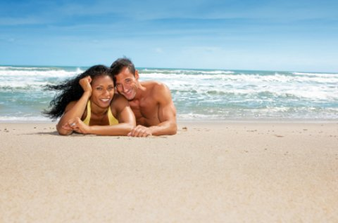 Honeymooners on Honeymoon Island