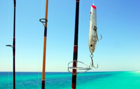 Pompano Beach Florida fishing rods