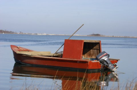 Apalachicola oyster fishing boat