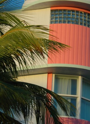 South Beach Florida Art Deco building