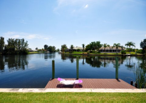 cape coral water canal
