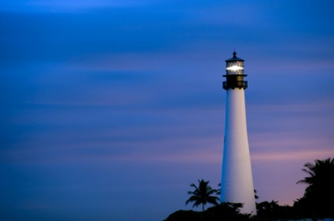 Cape Florida Lighthouse at Bill Baggs