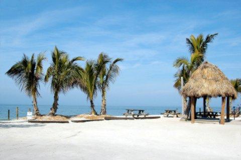 Captiva Island beach scene