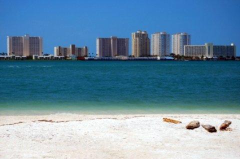 clearwater beach scene