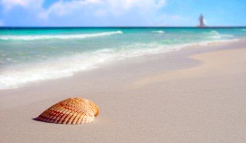 highland beach scene