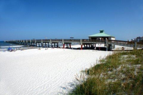 Jacksonville Florida fishing pier