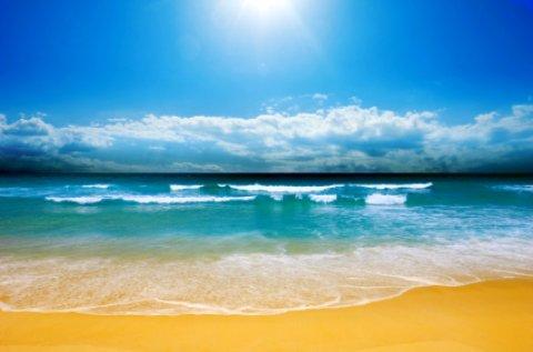 Boca Raton Florida Beach Scene