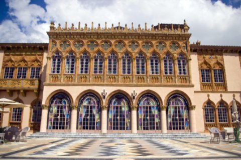 John Ringling's mansion and museum
